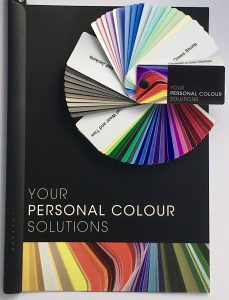 Color consultation for men, male color swatch