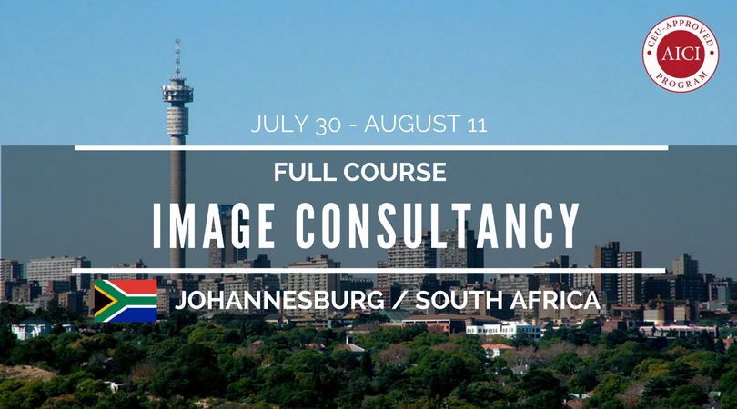full 12 day image consultancy training colour and style and business basics. Johannesburg sth africa july 2018