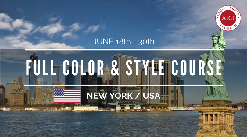 full color and style consultant course new york june 2018