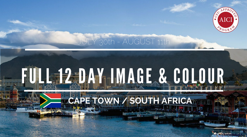 cape town Sth Africa full 12 day image consultant training prgram image with table mountain the background