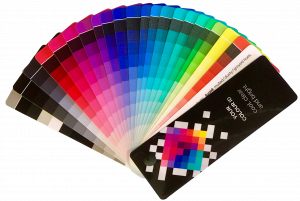 Ombre swatch, Image Innovators, Color Tools, Color Swatches,Image Consultant Tools, color fan