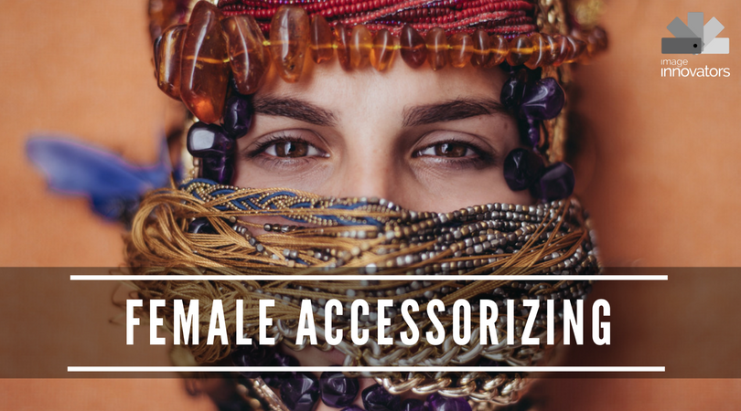 training course on female accessorising image consultant training, how to wear accessories