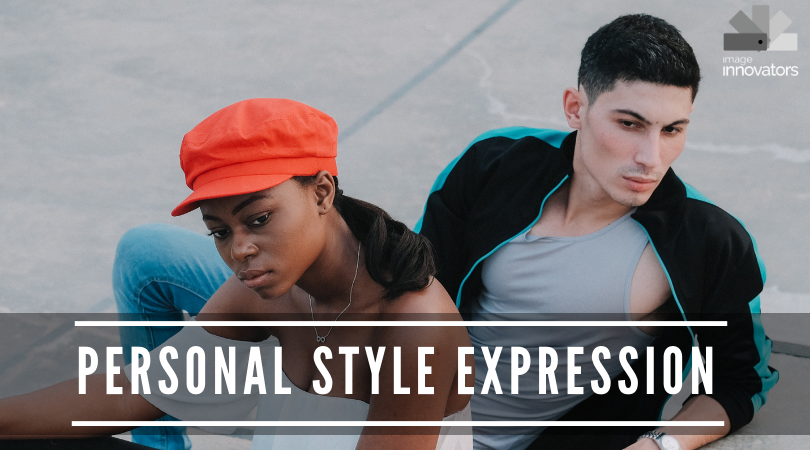two people representing clothing personality course, personal style expression