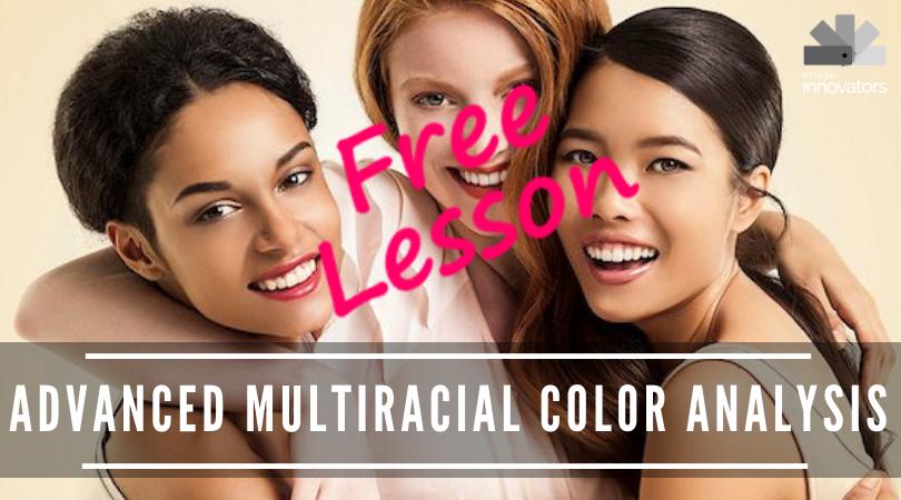 receive a free colour analysis lesson