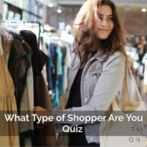 woman shopping - asking what style of shopper is she