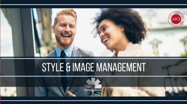Image consultant training course image under text style and image management