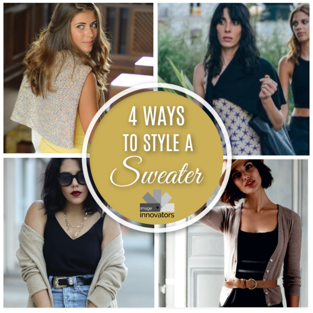 4 Ways to Wear A Sweater