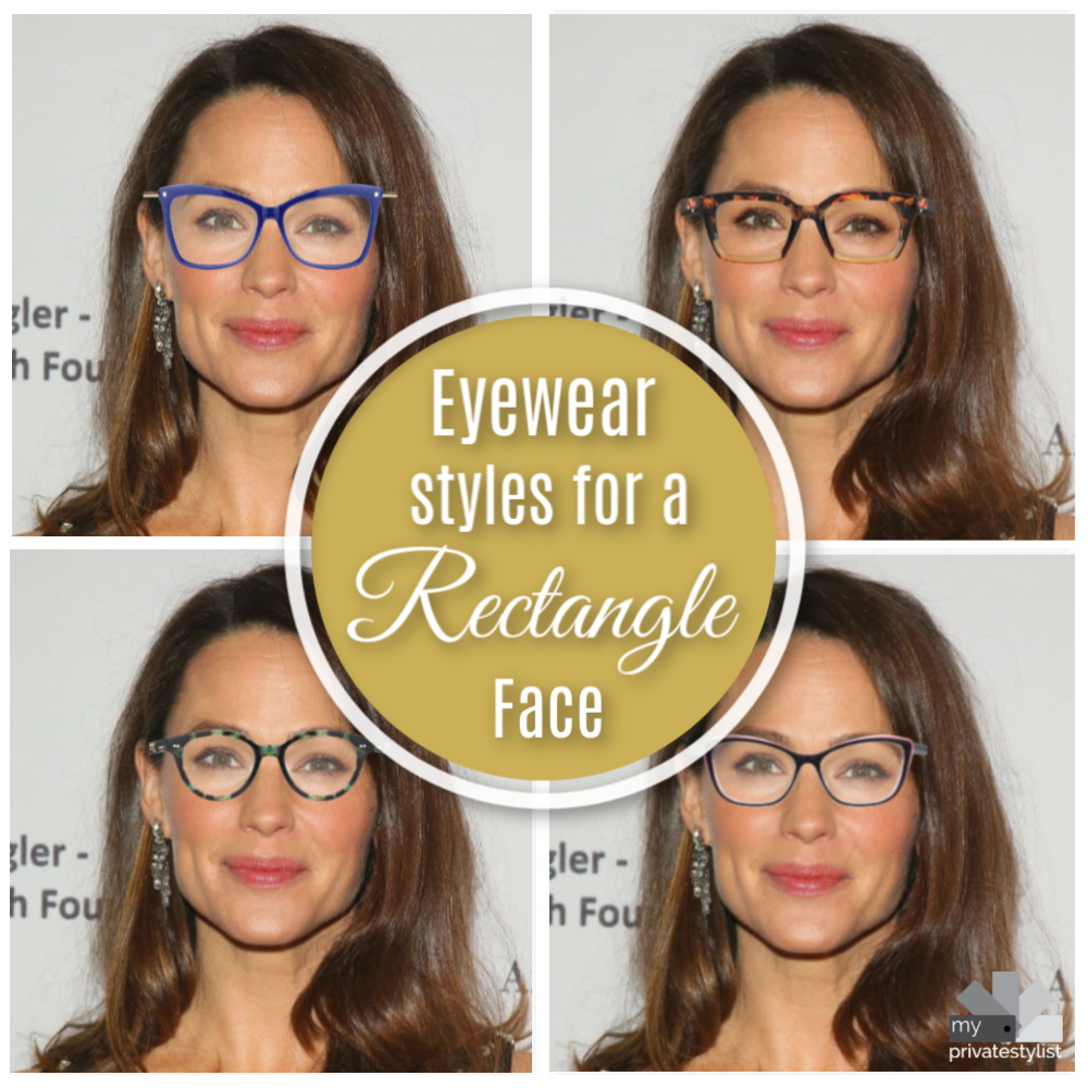 Eyewear for Rectangle Faces
