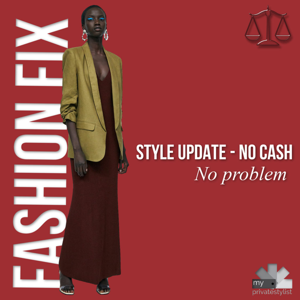 How to Update Your Style When You have No cash