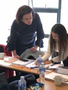 image consultant training in classroom