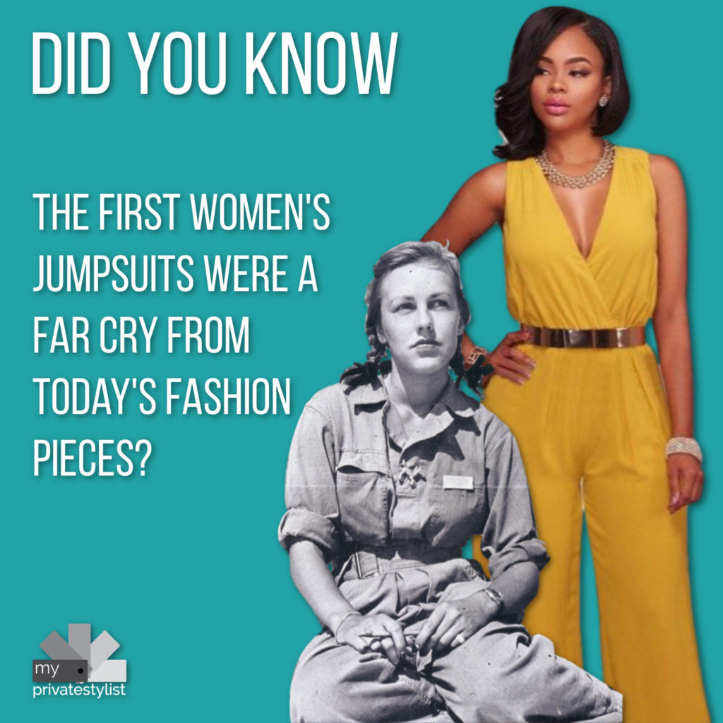The History of Jumpsuits