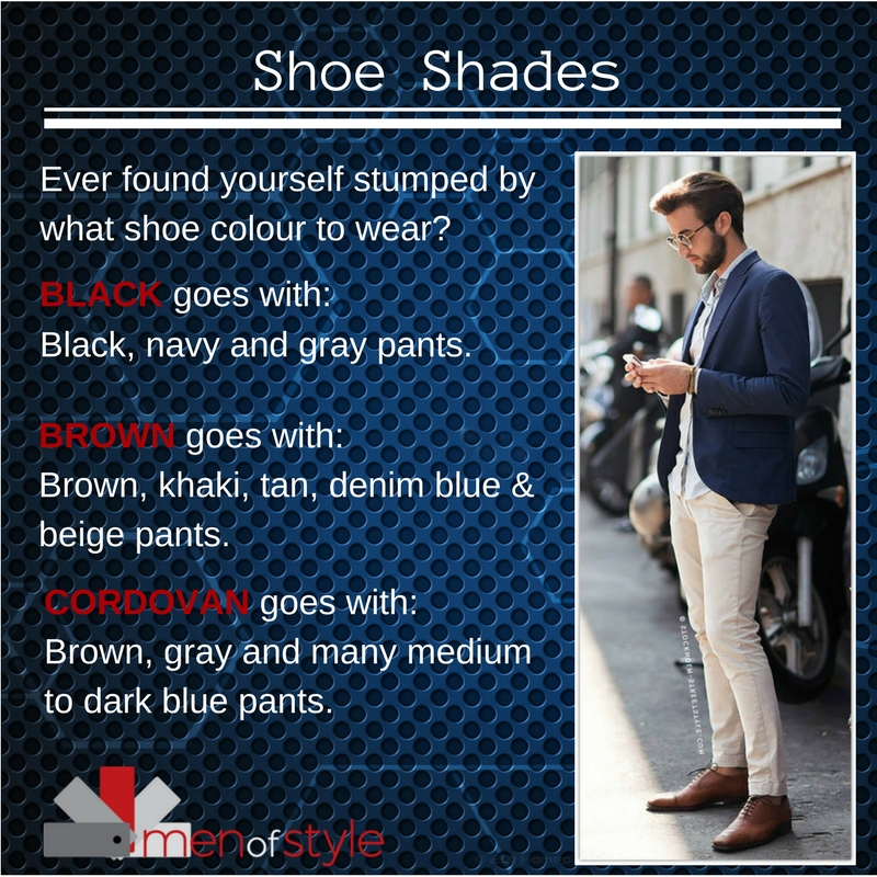 How to Select the Correct Show Shade For Men