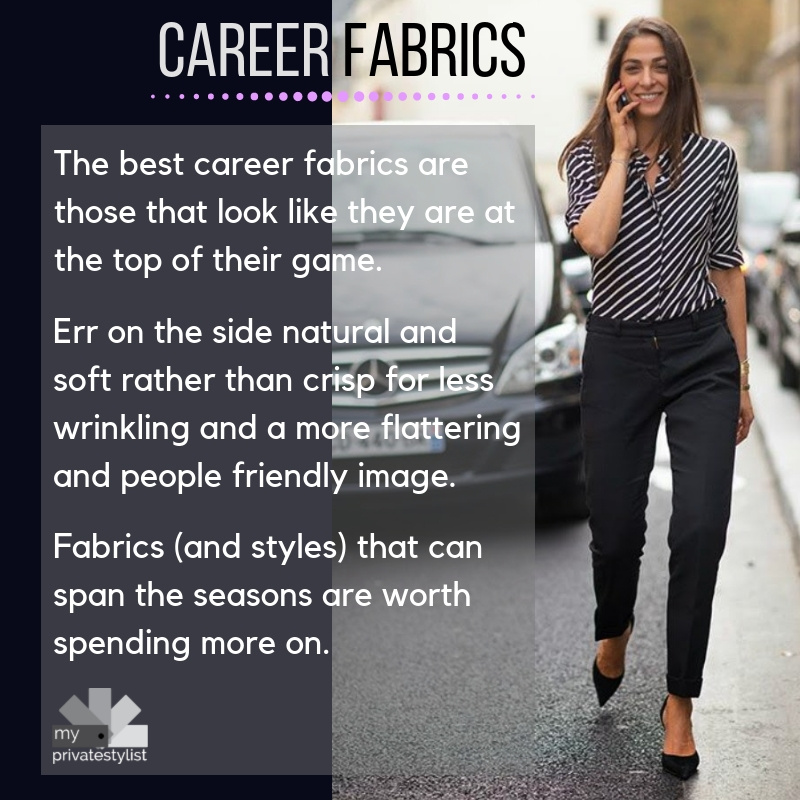 The best fabrics for for career wear
