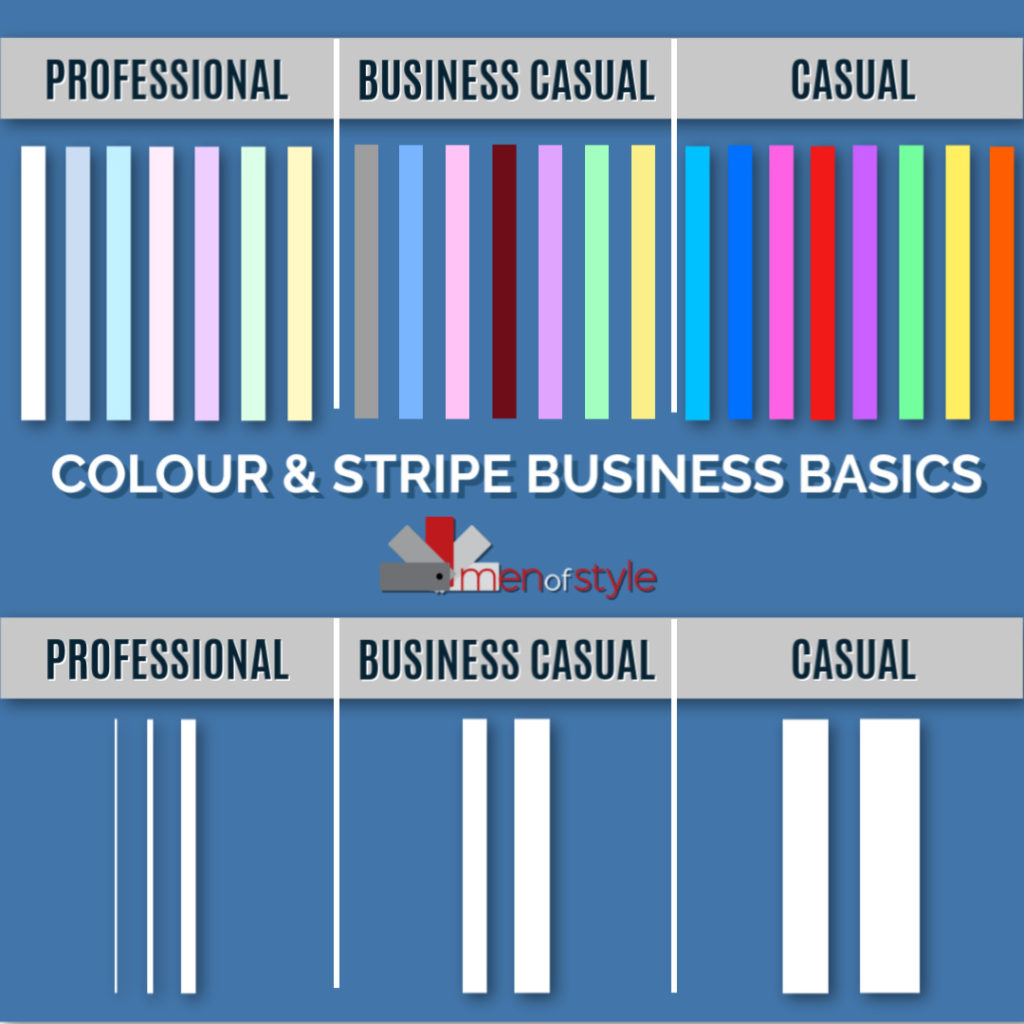 COLOUR & STRIPE BUSINESS BASICS