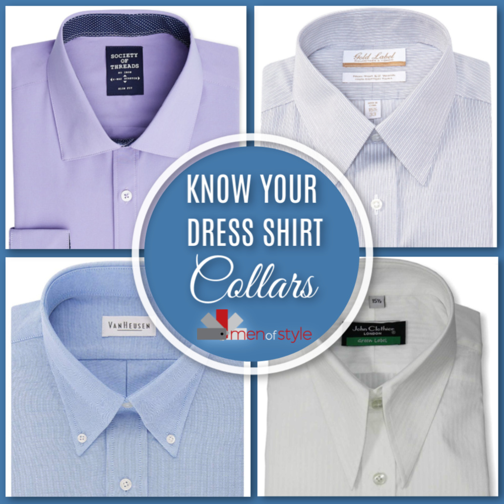 Know Your Dress Shirt Collars