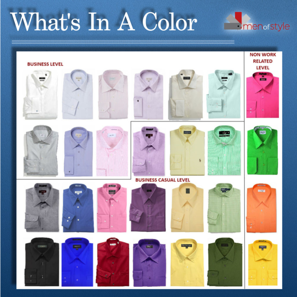 How to Select the Right Colored Dress Shirt