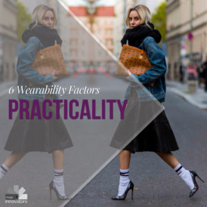 wearability 4, the practicality of a garment