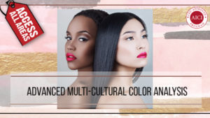 Sneak Peak of Online Advanced Multi-cultural Colour Analysis Course